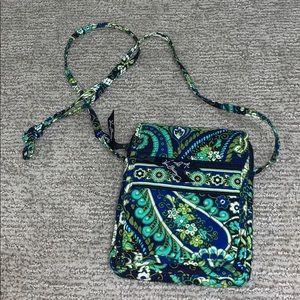 Vera Bradley Rhythm and Blues Crossbody Bag